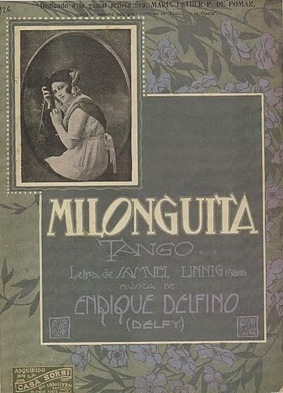 Sheet Music Cover for Milonguita
