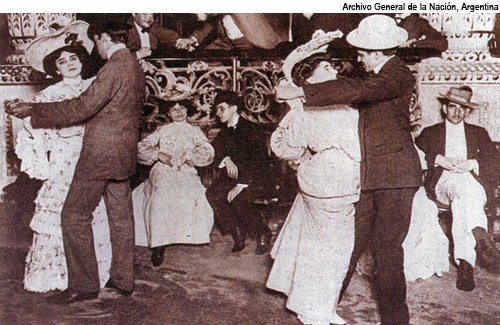 1905 - Dancers in the Rose Pavilion